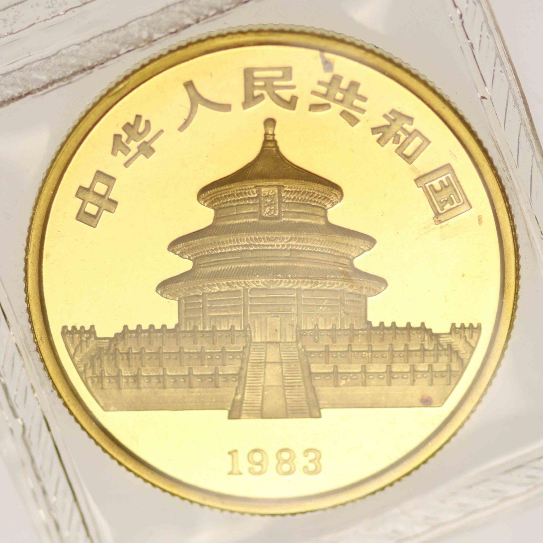 china - China Panda 1/2 Unze 1983