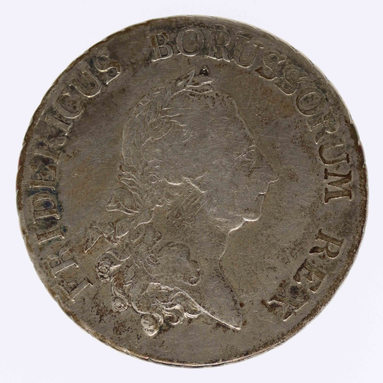 altdeutschland-deutsche-silbermuenzen - Preussen Friedrich II. Taler 1782