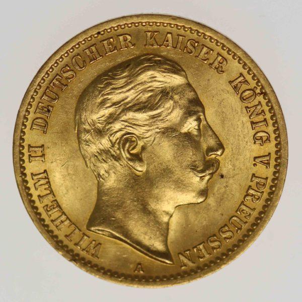 deutsches-kaiserreich - Goldmünzen aus dem deutschen Kaiserreich: Der doppelte Wilhelm