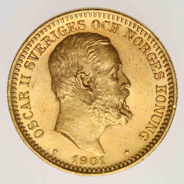schweden - Schweden Oskar II. 20 Kronen 1901