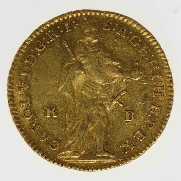 ungarn - Ungarn Karl VI. Dukat 1739