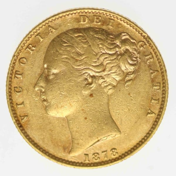 australien - Australien Victoria Sovereign 1878 S