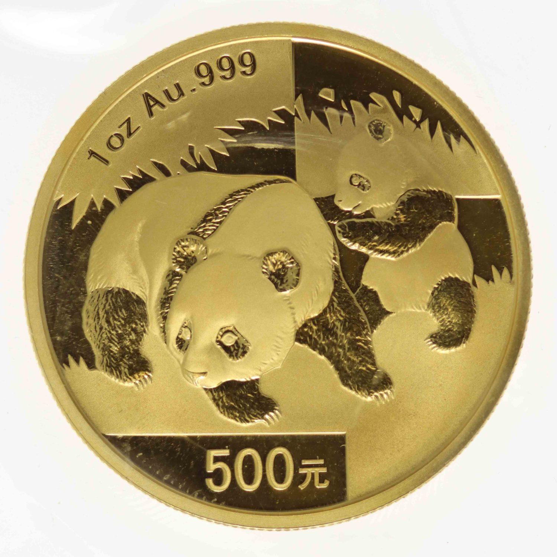 china - China Panda 1 Unze 2008
