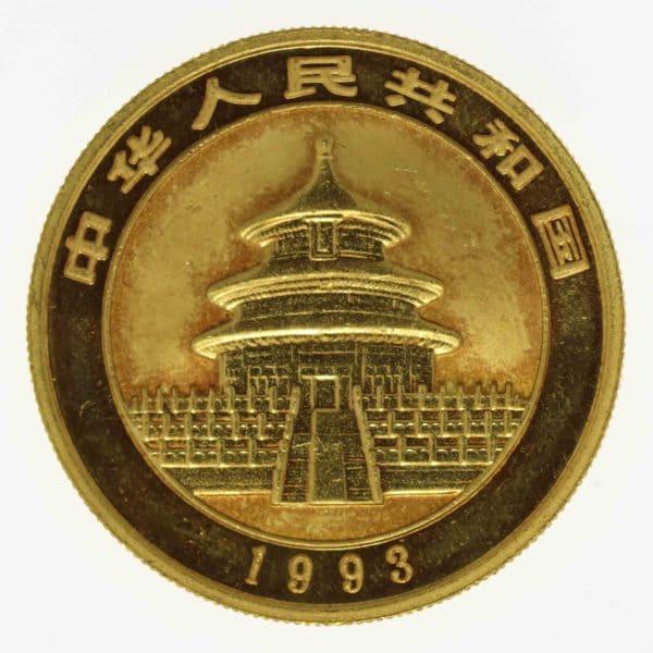 china - China Panda 1 Unze 1993