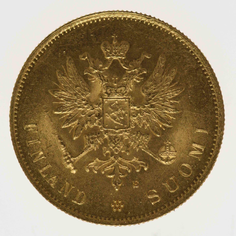 finnland - Finnland Alexander III. 10 Markkaa 1882