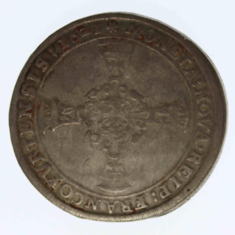 altdeutschland-deutsche-silbermuenzen - Frankfurt Stadt Reichstaler 1621