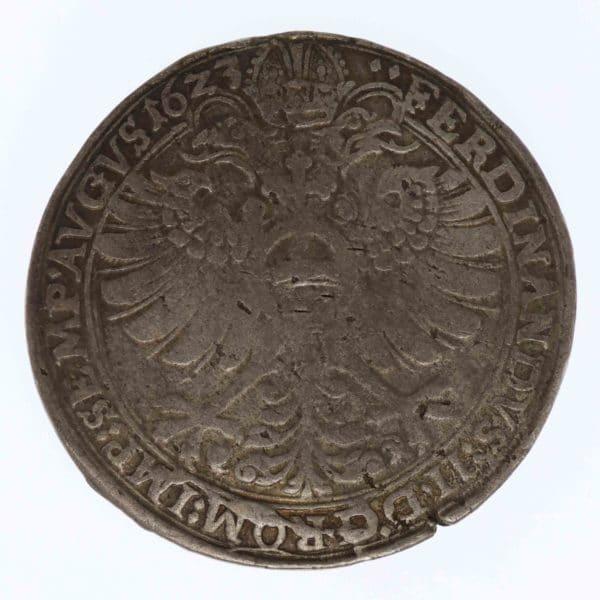 altdeutschland-deutsche-silbermuenzen - Hanau Münzenberg Philipp Moritz Taler 1623