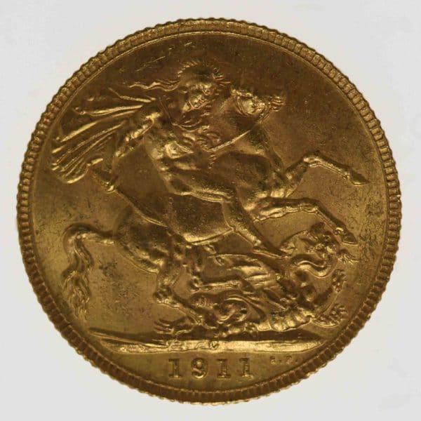 kanada - Kanada Georg V. Sovereign 1911 C