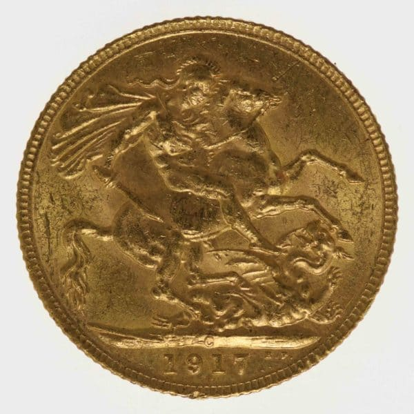 kanada - Kanada Georg V. Sovereign 1917 C