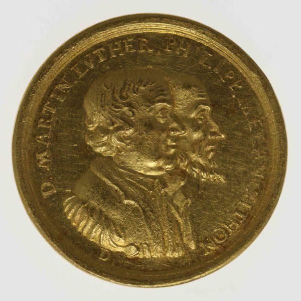 altdeutschland - Nürnberg Stadt Goldmedaille zu einem Dukaten 1730