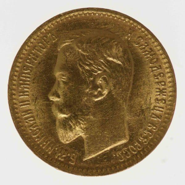 russland - RusslandNikolaus II. 5 Rubel 1904