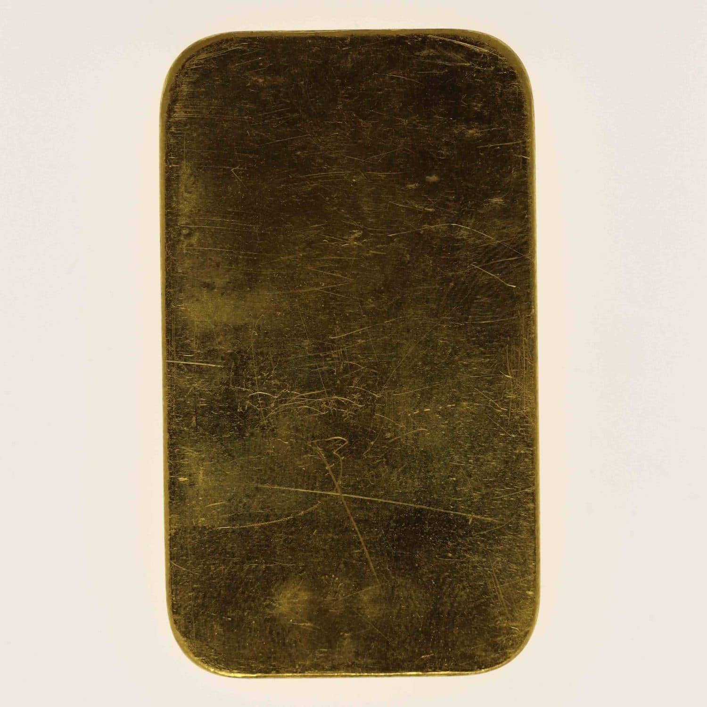 goldbarren - Goldbarren 50 Gramm Argor S.A. Chiasso
