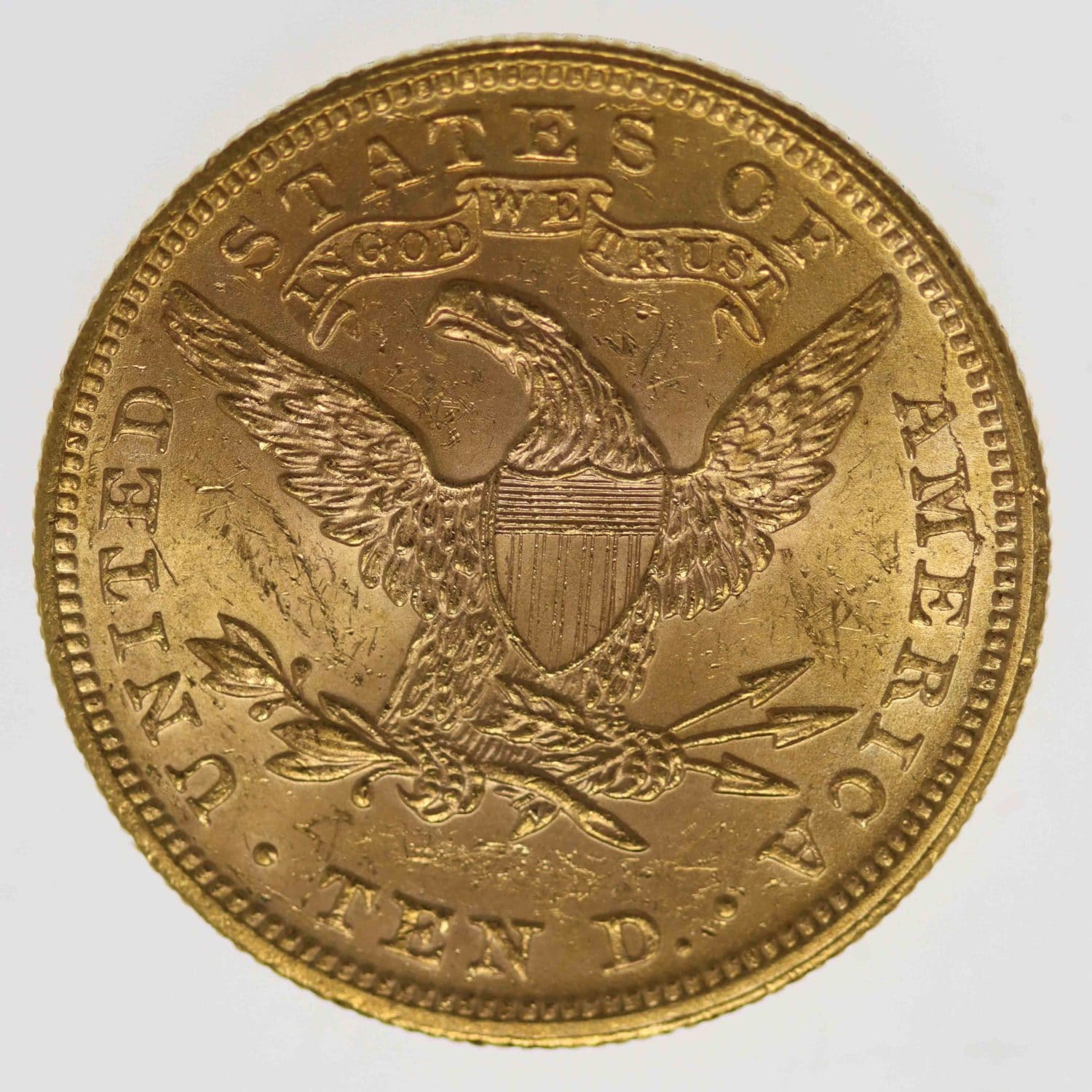 usa - USA 10 Dollars 1899 Liberty / Kopf