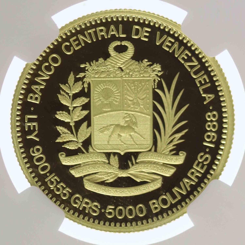 venezuela - Venezuela 5000 Bolivares 1988