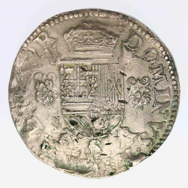 belgien-silbermuenzen-uebriges-europa - Belgien Brabant Philippe II. Ecu 1586