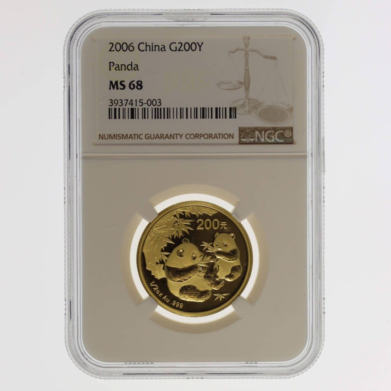 china - China Panda 1/2 Unze 2006