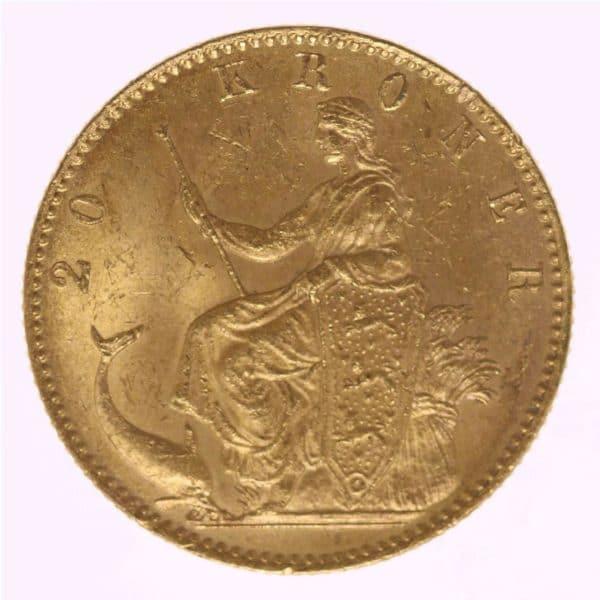daenemark - Dänemark Christian IX. 20 Kronen1873