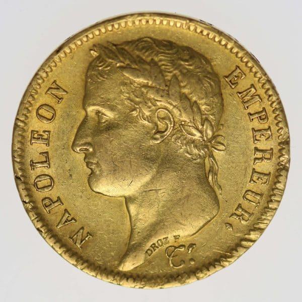 frankreich - Frankreich Napoleon I. 40 Francs 1811 A