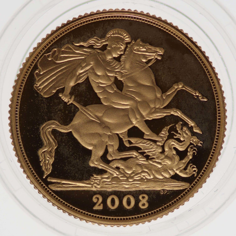 grossbritannien - Großbritannien Elisabeth II. Sovereign 2008