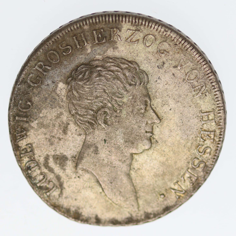 altdeutschland-deutsche-silbermuenzen - Hessen Darmstadt Ludwig I. Taler 1809