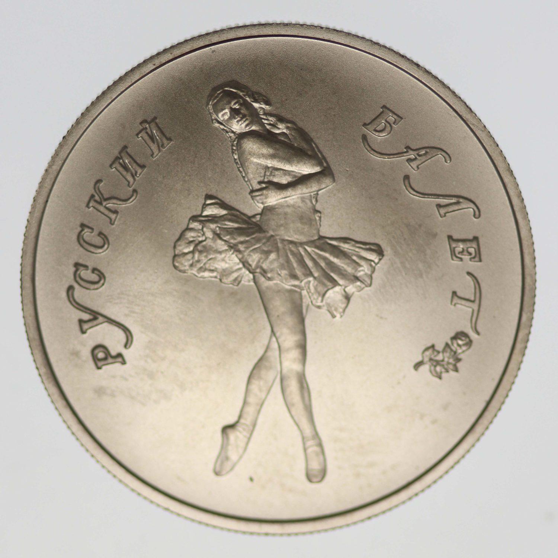 palladium - Russland 5 Rubel 1991