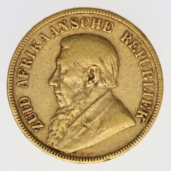 suedafrika - Südafrika 1 Pond 1897