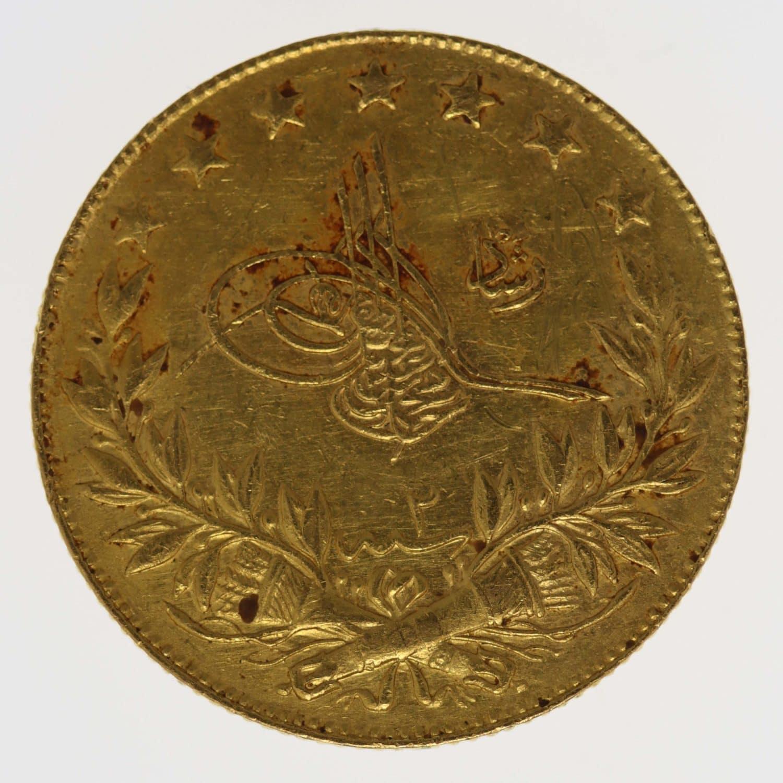 tuerkei - Türkei Muhammad V. 100 Kurush 1910
