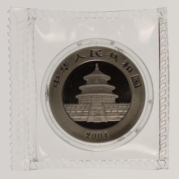 palladium - China 1/2 Unze 2004 Palladium Panda