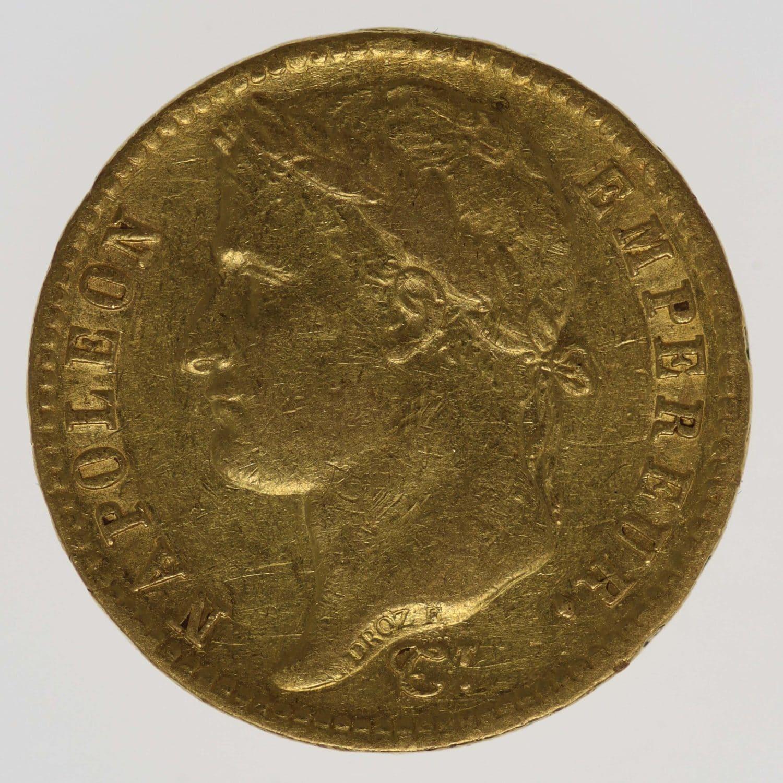 frankreich - Frankreich Napoleon I. 20 Francs 1812 A