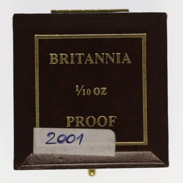grossbritannien - Großbritannien Elisabeth II. 10 Pounds 2001 Britannia