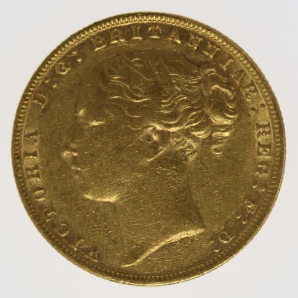 grossbritannien - Großbritannien Victoria Sovereign 1874