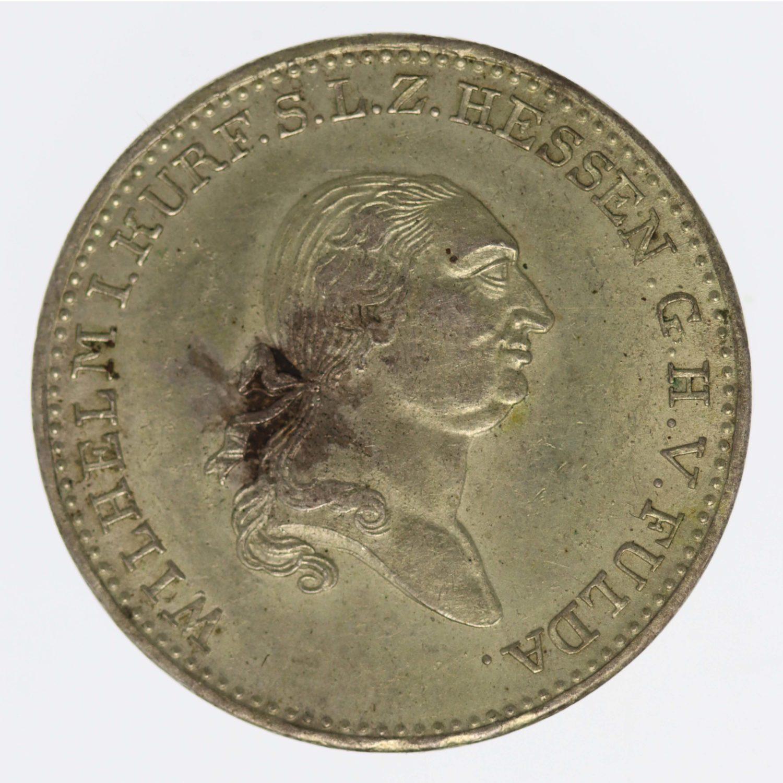 altdeutschland-deutsche-silbermuenzen - Hessen Kassel Wilhelm I. 1/2 Taler 1819