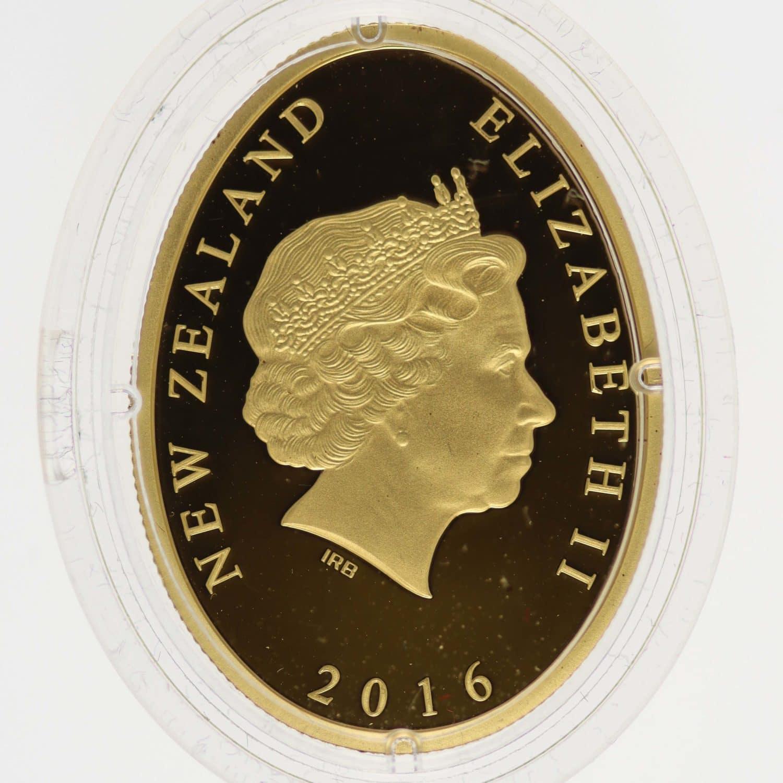 neuseeland - Neuseeland Elisabeth II. 10 Dollars 2016 1/4 OZ Kiwi