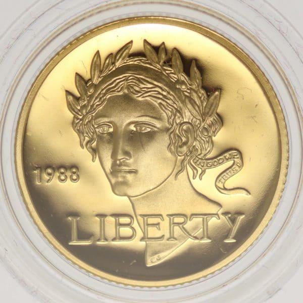 usa - USA 5 Dollars 1988 Olympiade Seoul