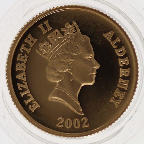 grossbritannien - Alderney Elisabeth II. 25 Pounds 2002