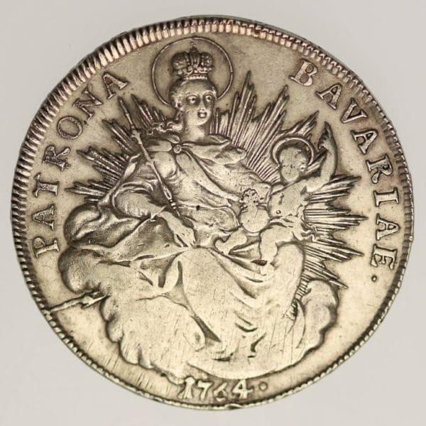 altdeutschland-deutsche-silbermuenzen - Bayern Maximilian III. Joseph Taler 1764