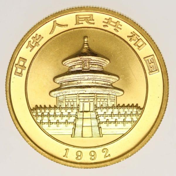 china - China Panda 1 Unze 1992