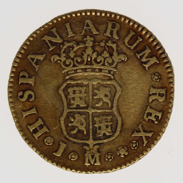 spanien - Spanien Ferdinand VI. 1/2 Escudo 1747