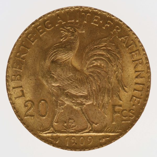 frankreich - Frankreich 20 Francs 1909 Marianne