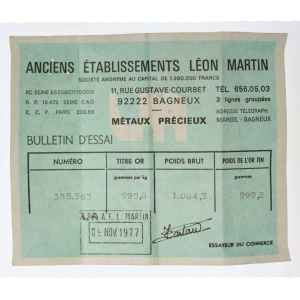 goldbarren - Goldbarren 1000 Gramm Léon Martin
