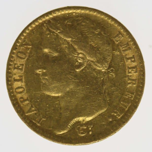 frankreich - Frankreich Napoleon I. 20 Francs 1810 A