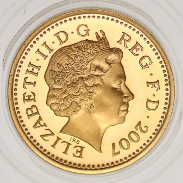 grossbritannien - Großbritannien Elisabeth II. One Pound 2007