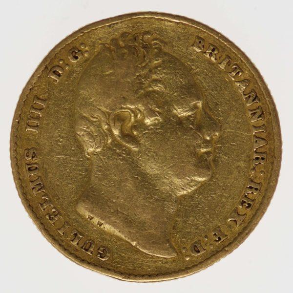 grossbritannien - Großbritannien William IV. Sovereign 1832