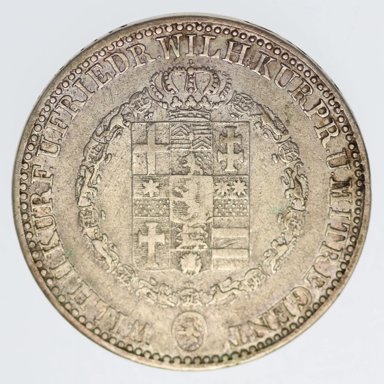 altdeutschland-deutsche-silbermuenzen - Hessen Kassel Wilhelm II. und Friedrich Wilhelm Taler 1834