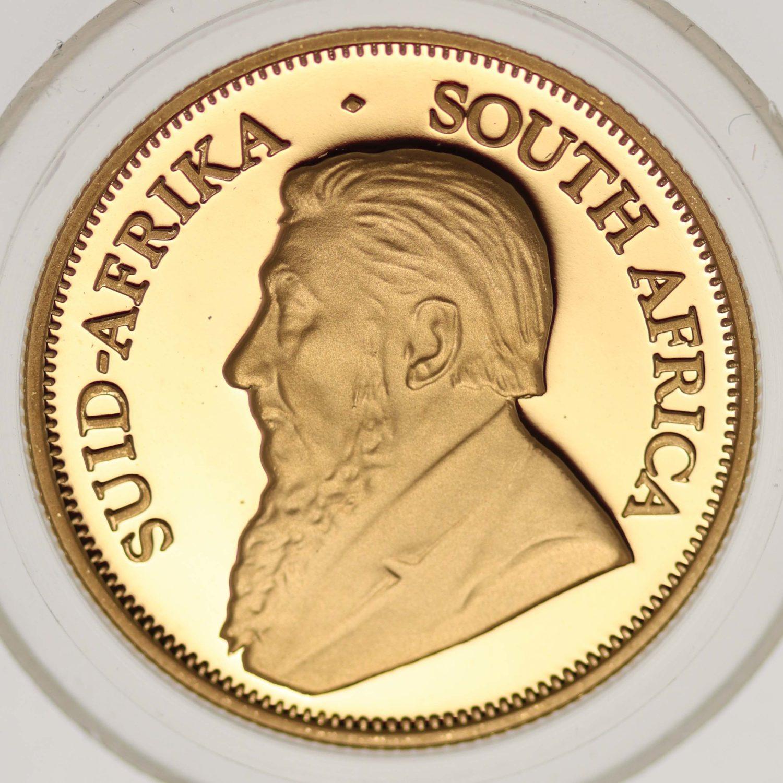 suedafrika - Südafrika Krügerrand 4 Coin Proof Set 2001