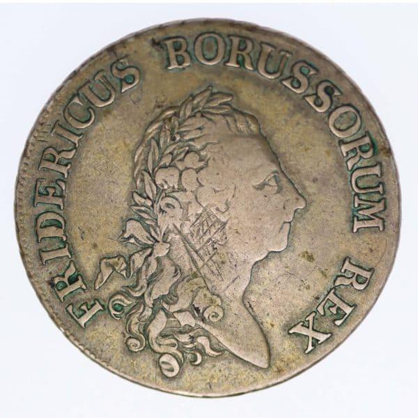 altdeutschland-deutsche-silbermuenzen - Preussen Friedrich II. Taler 1784 A