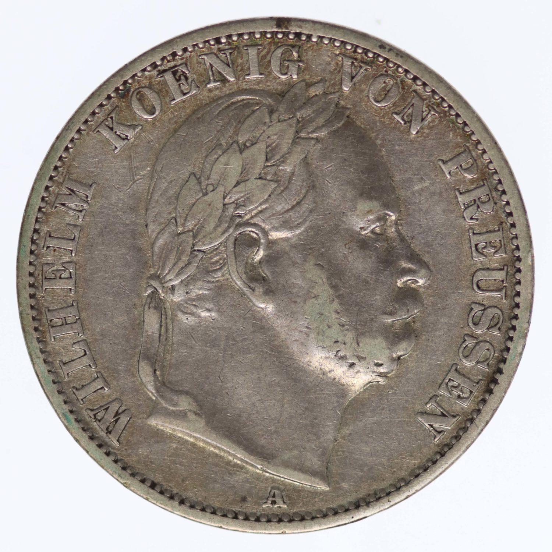 altdeutschland-deutsche-silbermuenzen - Preussen Wilhelm I. Vereinstaler 1866