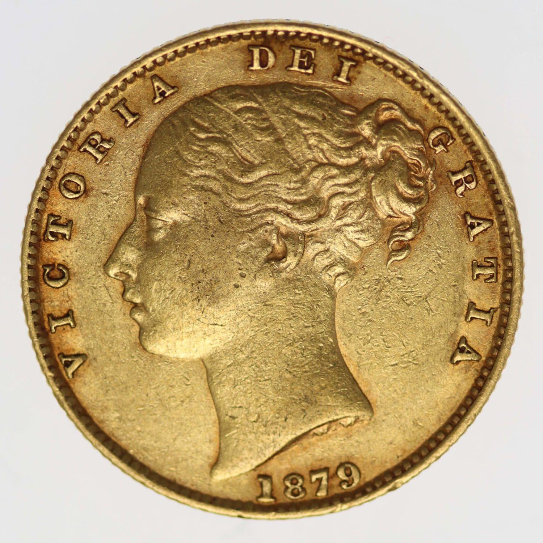 australien - Australien Victoria Sovereign 1879 S
