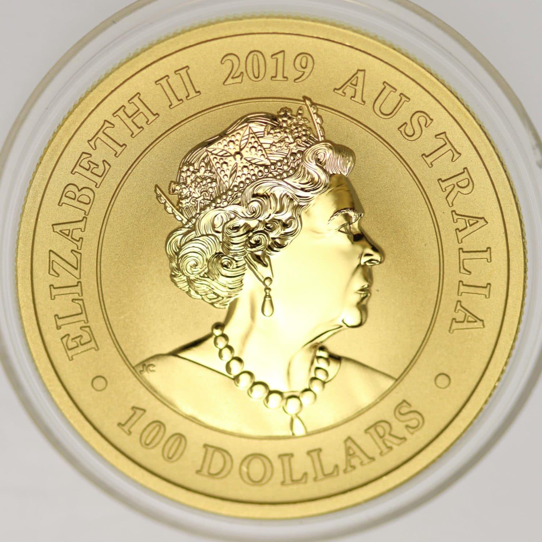 australien - Australien Elisabeth II. 100 Dollars 2019 Gold Swan