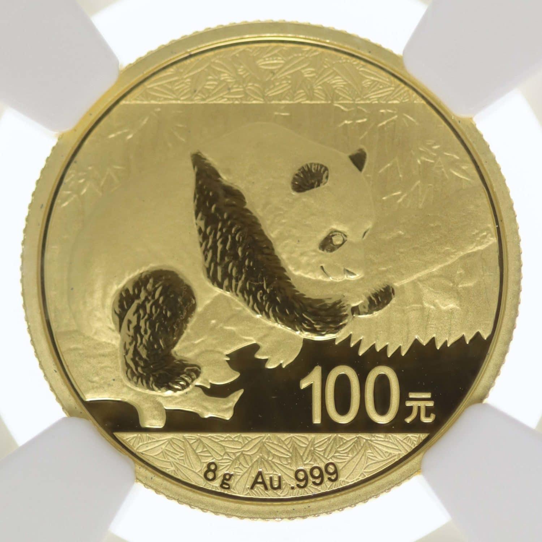 china - China Panda 100 Yuan 2016 8g